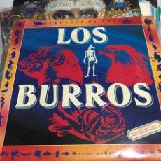 Discos de vinilo: LOS BURROS DOBLE LP REBÚZNOS DE AMOR Y JAMÓN DE BURRO 1983 CON LIBRETOS COSAS. Lote 243913175