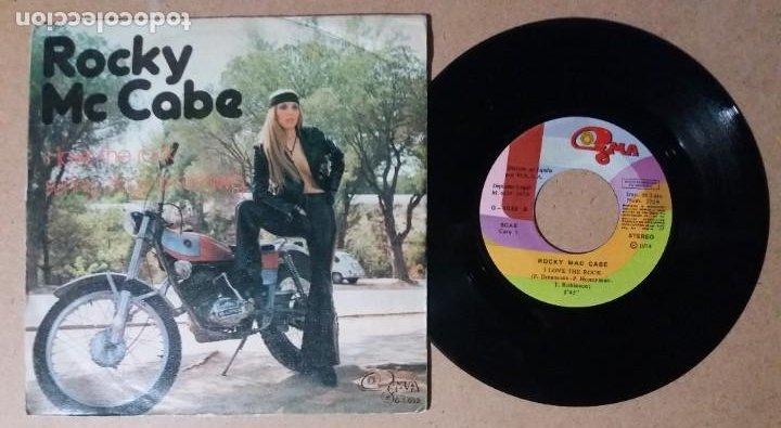 ROCKY MC CABE / I LOVE THE ROCK / SINGLE 7 PULGADAS (Música - Discos - Singles Vinilo - Pop - Rock - Internacional de los 70)