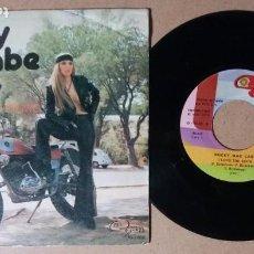 Discos de vinilo: ROCKY MC CABE / I LOVE THE ROCK / SINGLE 7 PULGADAS. Lote 243914460