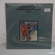 """Discos de vinilo: VINILO 12"""" - LP - CANCIONES DE GALICIA - CORAL DE RUADA DE ORENSE VOL. 2 / CBS. Lote 243916795"""
