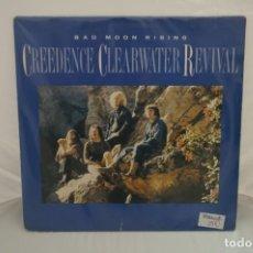 """Discos de vinilo: VINILO 12"""" - LP - BAD MOON RISING - CREEDENCE CLEARWATER REVIVAL / FANTASY. Lote 243916865"""