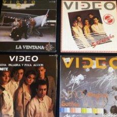 Discos de vinilo: LOTE 10 SINGLES VIDEO TIPO MECANO OLE OLE CASAL VINILO BETTY TROUPE LUNA+ ENVIO 5€ C. SOLO PENINSULA. Lote 243916960