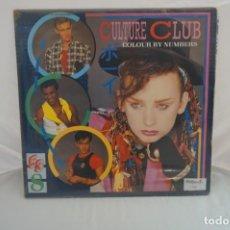 """Discos de vinilo: VINILO 12"""" - LP - COLOUR BY NUMBERS - CULTURE CLUB / GEMA STEMRA BIEM. Lote 243917065"""