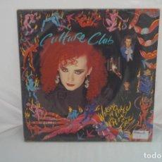"Discos de vinilo: VINILO 12"" - LP - WALKING UP O WITH THE HOUSE ON FIRE - CULTURE CLUB / VIRGIN ESPAÑA. Lote 243917275"