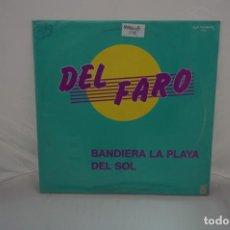 "Discos de vinilo: VINILO 12"" - MAXI-SINGLE - BANDIERA LA PLAYA DEL SOL - DEL FARO / ZYX RECORDS. Lote 243923260"