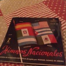 Discos de vinilo: HIMNOS NACIONALES. Lote 243927045