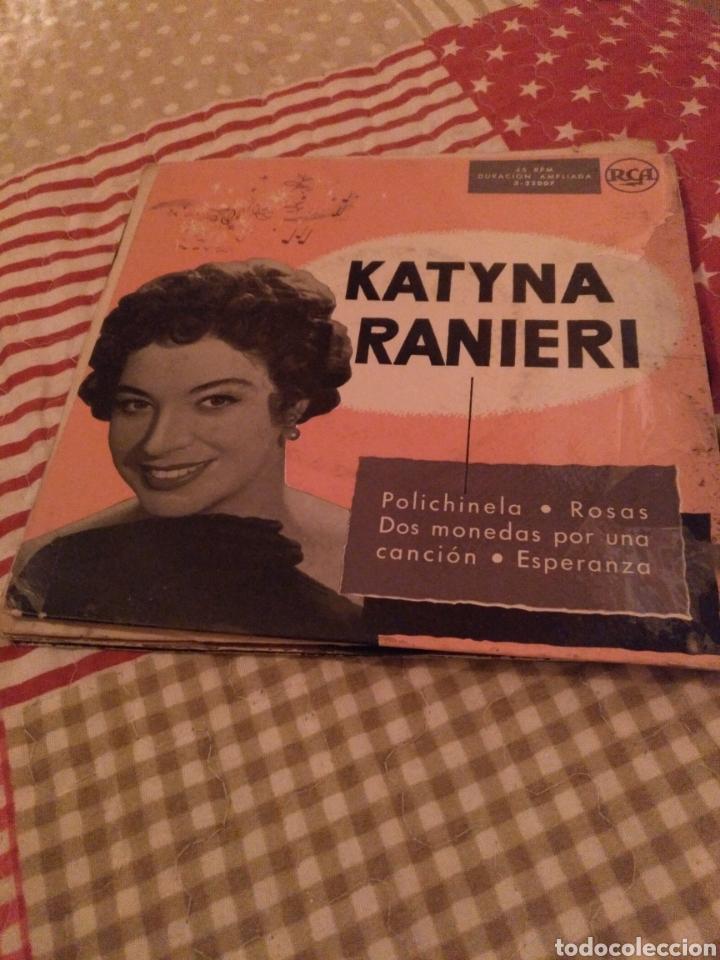 KATINA RANIERI (Música - Discos de Vinilo - EPs - Canción Francesa e Italiana)