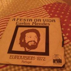 Discos de vinilo: CARLOS MENDES. Lote 243927255