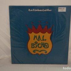 """Disques de vinyle: VINILO 12"""" - LP - MAL BICHO - LOS FABULOSOS CADILLACS / CBS SONIC. Lote 243927935"""