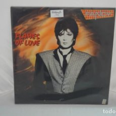 "Discos de vinilo: VINILO 12"" - MAXI SINGLE - FLAMES OF LOVE - FANCY / BLANCO NEGRO. Lote 243928435"
