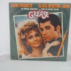 """Discos de vinilo: VINILO 12"""" - LP - GREASE - THE ORIGINAL SOUNTRACK FROM THE MOTION PICTURE - TRAVOLTA JOHN. Lote 243928960"""