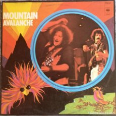 Discos de vinilo: VINILO LP - MOUNTAIN - AVALANCHE - MADE IN HOLLAND - CBS - 1974. Lote 243943340