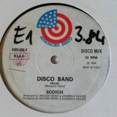 Discos de vinilo: SCOTCH - DISCO BAND - 1984. Lote 243944670
