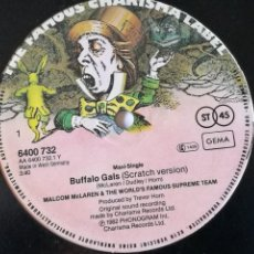 Dischi in vinile: MALCOLM MCLAREN AND THE WORLD'S FAMOUS SUPREME TEAM - BUFFALO GALS - 1982. Lote 243944910