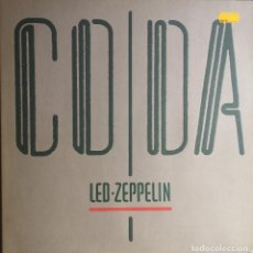 Discos de vinilo: VINILO LP - LED ZEPPELIN - CODA - MADE IN SPAIN - SWAN SONG - 1982. Lote 243955385