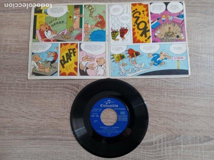 Discos de vinilo: MORTADELO Y FILEMON .DISCO 1971.COHETE A LA LUNA. - Foto 3 - 243955515