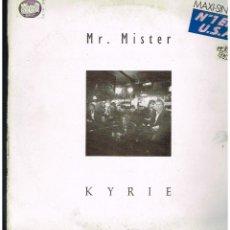 Discos de vinilo: MR. MISTER - KYRIE - MAXI SINGLE 1986 - ED. ESPAÑA. Lote 243959920