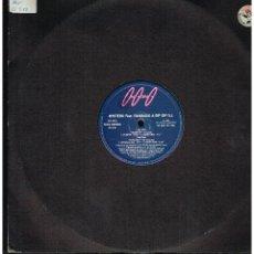 Discos de vinilo: MYSTERO FEAT. RANDAGIO & BIP BIP DJ - PUMPUP / POPCORN - MAXI SINGLE 1993 - ED. ITALIA. Lote 243960705