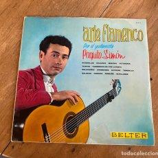 Discos de vinilo: VINILO LP ARTE FLAMENCO POR GUITARRISTA PAQUITO SIMÓN /1961. Lote 243961620