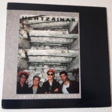Discos de vinilo: HERTZAINAK. AMETS PREFABRIKATUAK- LP 1989 + ENCARTE- VINILO COMO NUEVO.. Lote 243963275