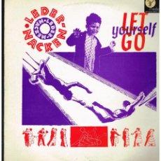 Discos de vinilo: LEDERNACKEN - LET YOURSELF GO - MAXI SINGLE 1988 - ED. UK. Lote 243966835
