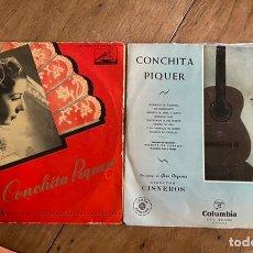 Discos de vinilo: 2 VINILO LP CONCHITA PIQUER. Lote 243968920