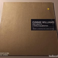 "Discos de vinilo: CUNNIE WILLIAMS FEAT. HEAVY D. - A WORLD CELEBRATION (12""). Lote 243975220"