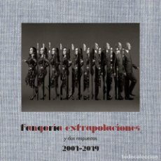 Discos de vinilo: FANGORIA – EXTRAPOLACIONES Y DOS RESPUESTAS 2001-2019 - DOBLE VINILO + CD. Lote 243977090