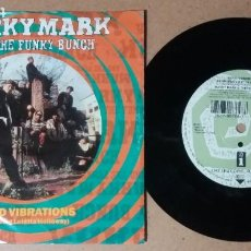Disques de vinyle: MARKY MARK AND THE FUNKY BUNCH / GOOD VIBRATIONS / SINGLE 7 PULGADAS. Lote 243982510