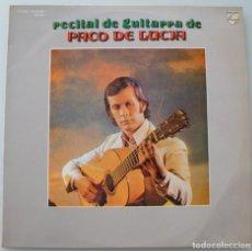 Discos de vinilo: PACO DE LUCIA - RECITAL DE GUITARRA (LP PHILIPS 1975 CIRCULO DE LECTORES). Lote 243988730