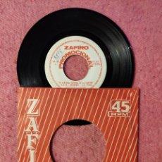 Discos de vinilo: SINGLE LOS PLATA - EL BARCO, LA MAR Y EL VIENTO ZAFIRO 00-20 - PROMO (-/EX+) VI FESTIVAL ESPAÑOL. Lote 243991810