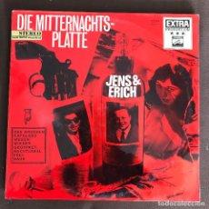 Discos de vinilo: JENS & ERICH - DIE MITTERNACHTSPLATTE - LP ELECTROLA ALEMANIA 1964. Lote 243992355