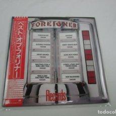 Discos de vinilo: VINILO EDICIÓN JAPONESA DEL FOREIGNER - RECORDS. Lote 243993525