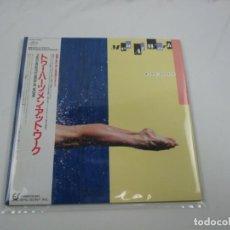 Discos de vinilo: VINILO EDICIÓN JAPONESA DEL LP DE MEN AT WORK - TWO HEARTS. Lote 243996695