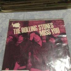 Discos de vinilo: THE ROLLIN STONES . MISS YOU DECCA 1965./75 . 1978 . .. Lote 244000865