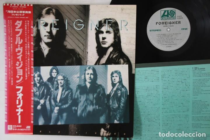 VINILO EDICIÓN JAPONESA DEL LP DE FOREIGNER - DOUBLE VISION (Música - Discos - LP Vinilo - Pop - Rock - New Wave Internacional de los 80)