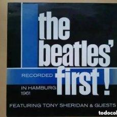 Disques de vinyle: BEATLES - FIRST (LP) 1989. Lote 244003855