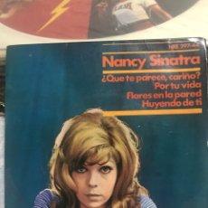 Discos de vinilo: NANTHE SINATRA 1966/LEAN DESCRIPCIÓN. Lote 244009235