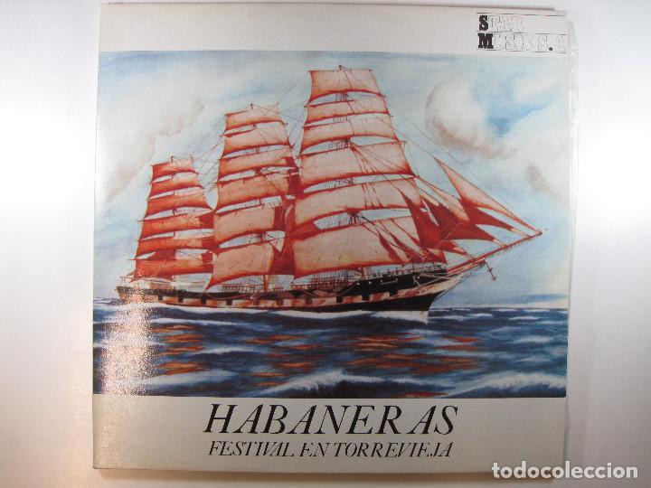 DOBLE LP HABANERAS. FESTIVAL EN TORREVIEJA (1987) (MUY RARO) (Música - Discos - LP Vinilo - Otros Festivales de la Canción)
