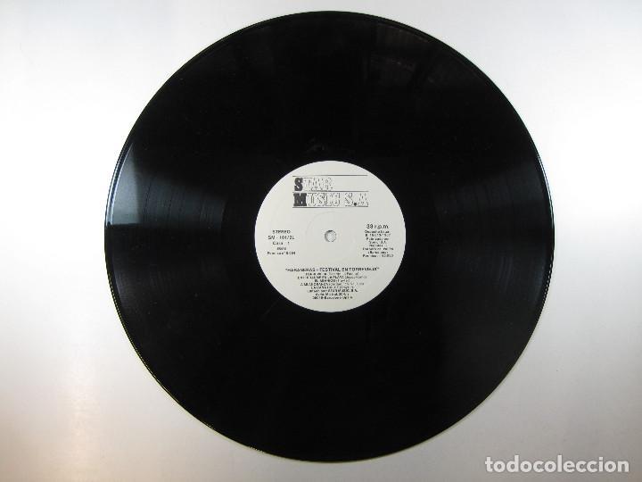 Discos de vinilo: DOBLE LP Habaneras. Festival en Torrevieja (1987) (MUY RARO) - Foto 5 - 244009550