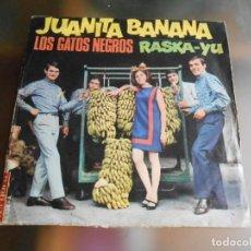 Discos de vinilo: GATOS NEGROS, LOS, SG, JUANITA BANANA + 1, AÑO 1966. Lote 244009800