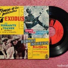 Discos de vinilo: EP FERRANTE Y TEICHER / DON COSTA EXODUS / RUMBOS INCIERTOS - SPAIN PRESS (VG++/VG+) MARILYN MONROE. Lote 244010160