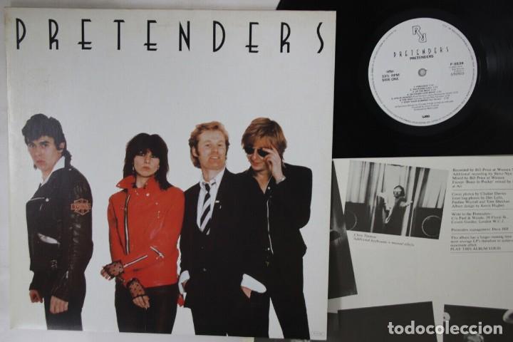 VINILO EDICIÓN JAPONESA DEL LP DE PRETENDERS - PRETENDERS (Música - Discos - LP Vinilo - Pop - Rock - New Wave Internacional de los 80)