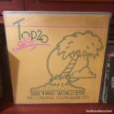 Discos de vinilo: VARIOS / TOP TWENTY HITS / THIRD WORLD 1975. Lote 244012790