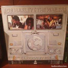 Discos de vinilo: BOB MARLEY AND THE WAILERS / BABYLON BUS / DOBLE ALBUM / ISLAND 1978. Lote 244015170