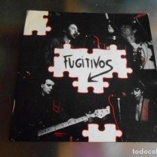 Discos de vinilo: FUGITIVOS, LOS, SG, CABEZA ABAJO + 1, AÑO 1990. Lote 244017685