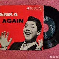 Discos de vinilo: EP PAUL ANKA - CRAZY LOVE +3 - COLUMBIA SLEG 5011 - PORTUGAL PRESS (VG+/VG++). Lote 244021185