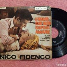 Discos de vinilo: EP NICO FIDENCO - A CASA D'IRENE / MA DAI +2 - RCA TP-195 - PORTUGAL PRESS (G+/VG++). Lote 244024770