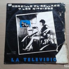 Discos de vinil: MORCILLO EL BALLACO Y LOS RITMICOS - LA TELEVISION MAXI SINGLE 1984. Lote 244132440