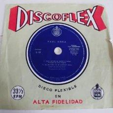 Discos de vinilo: PAUL ANKA-DISCOFLEX ESTA NOCHE MI AMOR. Lote 244175840